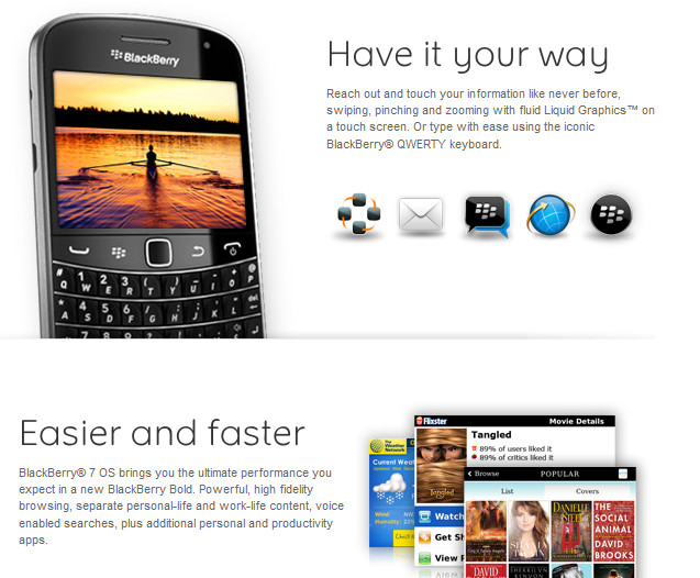 BlackBerry World: RIM Announced Bold 9900 & 9930 - BBin
