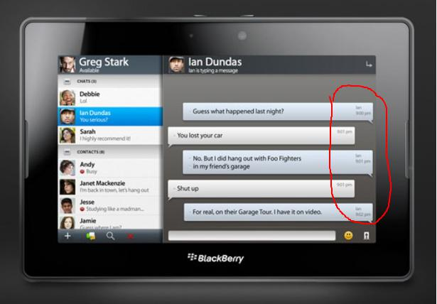 how to change blackberry id on playbook