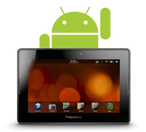 QNX + all Android OS on BlackBerry PlayBook [VIDEO] - BBin
