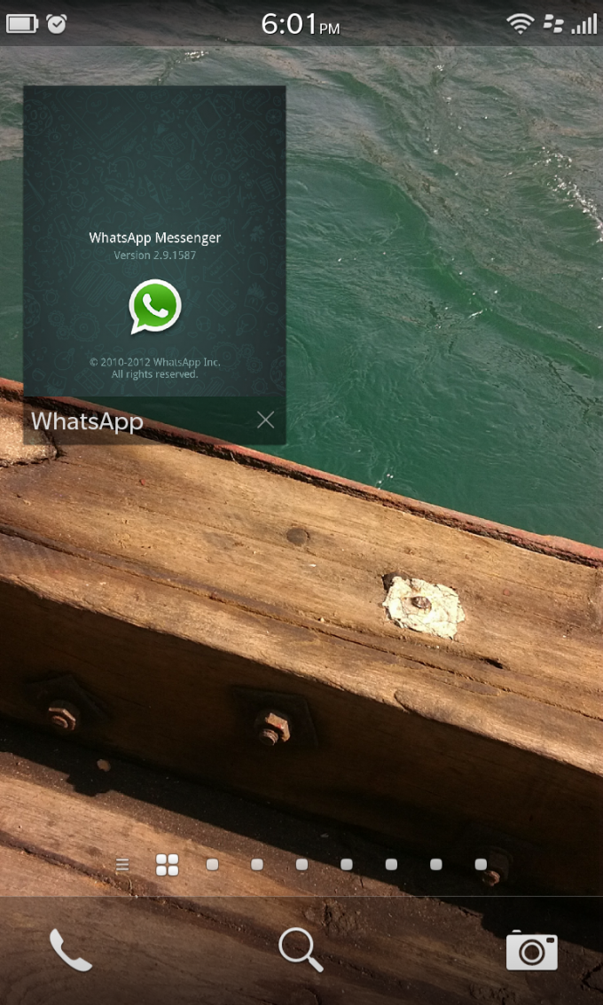 Android Sideload: WhatsApp for BlackBerry Z10 (Guide to
