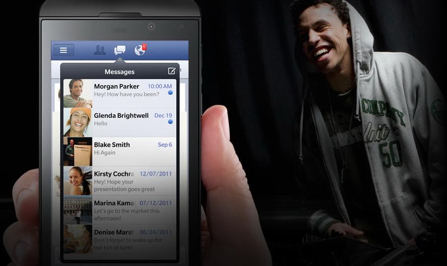 Facebook v10 1 0 106 for BlackBerry 10 smartphones brings