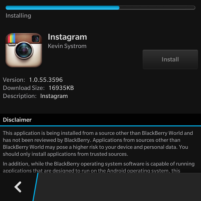 This is it! BlackBerry 10 2 1 update lets you install